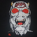 "SLAYER ""Def Jam/Reign in Pain"" 1987 European Tour shirt"