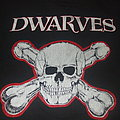 """THE DWARVES """"Skull and Crossboners/Bomb"""" '92 Thank Heaven for Little Girls tour shirt"""