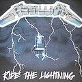 "Metallica - TShirt or Longsleeve - METALLICA ""Ride the Lightning/New Years Eve 1986""  tour shirt w/flyer"