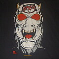 """Slayer - TShirt or Longsleeve - SLAYER """"Reign in Blood/Do you want to Die/White Demon"""" 1986-1987 Tour Shirt 2nd..."""