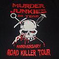 "GG Allin And The Murder Junkies - TShirt or Longsleeve - THE MURDER JUNKIES ""Road Killer Tour"" 2013 20th Anniversary shirt"