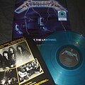 "Metallica - Tape / Vinyl / CD / Recording etc - METALLICA ""Ride the Lightning"" Walmart exclusive reissue blue vinyl"