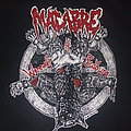 "Macabre - TShirt or Longsleeve - MACABRE ""Werewolf of Bedburg/Peter Stumpp"" 2013 band shirt"