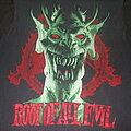 "Slayer - TShirt or Longsleeve - SLAYER ""Root of All Evil/World Sacrifice Tour"" 1988 band shirt"