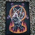 Slayer Hanneman On Fire Woven Patch