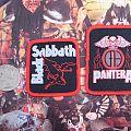 Black Sabbath, Pantera Small Woven Patches