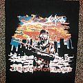 Sodom - Persecution Mania Bootleg Back Patch - TxRxAxDxE
