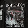 Immolation - TShirt or Longsleeve - Immolation - Failures For Gods 1999