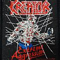 Kreator - Patch - Kreator - Extreme Aggression Patch 1990
