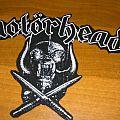 Motörhead - Patch - DIY Motörhead backshape