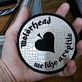 Motorhead - Love Me Like A Reptile snakeskin patch