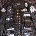 Vials Of Wrath - Battle Jacket - Leather Battle Jacket