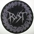 Rust woven patch