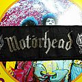 Motörhead stripe patch