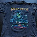 Megadeth - Rust In Peace vintage tour shirt
