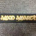 Amon Amarth- logo strip patch