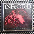 iNFeCTeD- Crawlspace cd Tape / Vinyl / CD / Recording etc