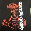 Amon Amarth- red thor hammer TShirt or Longsleeve