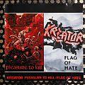 Kreator- Pleasure to Kill / Flag of Hate 2 in 1 CD Tape / Vinyl / CD / Recording etc