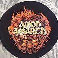 "Amon Amarth- ""Battlefield"" circular backpatch"