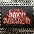 AMON AMARTH- flame logo Patch