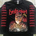 Destruction tshirt title live without sense