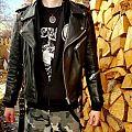 - - Battle Jacket - Vintage Leather - size S - Krawehl