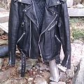 - - Battle Jacket - 80s leather size M/48