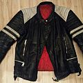 - - Battle Jacket - Vintage Leather - size S/M