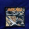 Overkill - I Hear Black patch