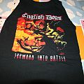"English Dogs ""Forward Into Battle"" official tshirt"
