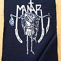 Mantar - Kill All Man, Leave None Behind ( Textile Backpatch )
