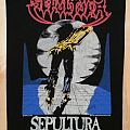 Sepultura - Escape to the Void ( Backpatch )