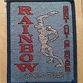 Rainbow - Bent Out Of Shape World Tour ( Patch )