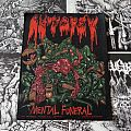 Autopsy - Mental Funeral ( Backpatch )