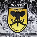 Clutch - The Elephant Riders ( Shield Patch )