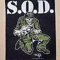 S.O.D. - Patch - S.O.D. - Sargent D ( Backpatch )