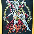Slayer - Patch - Slayer - Show No Mercy ( Woven Backpatch )