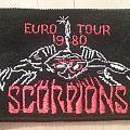 Scorpions - Euro Tour 1980 ( Patch )