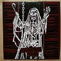 """Graveyard / Ulcer - Of Ancient Metal and Eternal Death ( Red Marbled 7"""" Split )"""