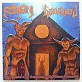 "Redimoni / Graveyard - Procession Of The Gravedemons / The Ultimate Profanation Split 7"" ( Black vinyl )"