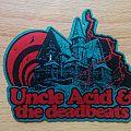 Uncle Acid & The Deadbeats - Patch - Uncle Acid & The Deadbeats Logo Shape Patch