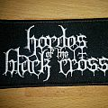 Hordes Of The Black Cross Logo Patch