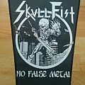 No Flase Metal Backpatch