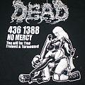 Dead – No Mercy (B&C) L  TShirt or Longsleeve