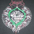 Unleashed - Never Ending Hate World Tour Shirt 1991