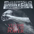 Pantera - Vulgar Display of Power 1992 XL TShirt or Longsleeve