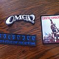 Omen, Solstice, Cirith Ungol. Patch