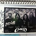 Omen photocard signed Other Collectable