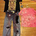 My clothes from Gwar last night  TShirt or Longsleeve